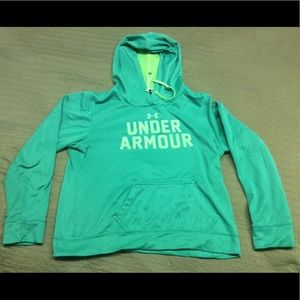 Under Armour Hoodie (🔥fire damage🔥)